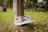 An Artful Bench