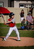 Casey at Bat (Well, it's my grandson.)