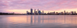 Perth and the Swan River at Sunrise, 4th February 2012