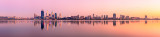 Perth and the Swan River at Sunrise, 22nd February 2012