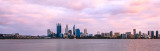 Perth and the Swan River at Sunrise, 30th March 2012