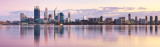 Perth and the Swan River at Sunrise, 11th May 2012