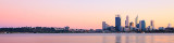 Perth and the Swan River at Sunrise, 19th May 2012