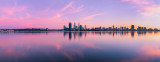 Perth and the Swan River at Sunrise, 29th July 2012