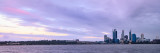 Perth and the Swan River at Sunrise, 25th September 2012