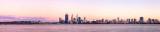 Perth and the Swan River at Sunrise, 3rd November 2012