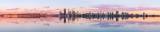Perth and the Swan River at Sunrise, 7th November 2012