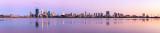 Perth and the Swan River at Sunrise, 10th November 2012