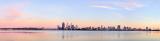 Perth and the Swan River at Sunrise, 13th November 2012