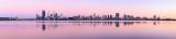 Perth and the Swan River at Sunrise, 15th November 2012