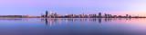 Perth and the Swan River at Sunrise, 19th November 2012