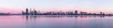 Perth and the Swan River at Sunrise, 22nd November 2012