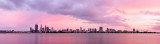 Perth and the Swan River at Sunrise, 23rd November 2012