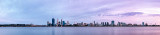 Perth and the Swan River at Sunrise, 24th November 2012