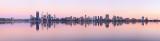 Perth and the Swan River at Sunrise, 27th November 2012