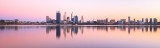 Perth and the Swan River at Sunrise, 23rd March 2013