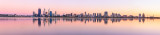 Perth and the Swan River at Sunrise, 30th March 2013
