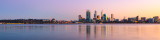 Perth and the Swan River at Sunrise, 31st May 2013