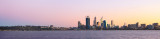 Perth and the Swan River at Sunrise, 11th June 2013