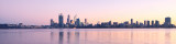 Perth and the Swan River at Sunrise, 20th June 2013