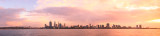 Perth and the Swan River at Sunrise, 24th June 2013
