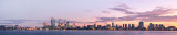 Perth and the Swan River at Sunrise, 28th June 2013