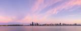 Perth and the Swan River at Sunrise, 2nd November 2013