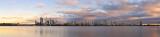Perth and the Swan River at Sunrise, 7th November 2013