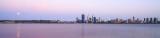 Perth and the Swan River at Sunrise, 18th November 2013