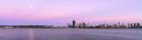 Perth and the Swan River at Sunrise, 19th November 2013