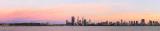 Perth and the Swan River at Sunrise, 21st November 2013