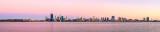 Perth and the Swan River at Sunrise, 23rd November 2013