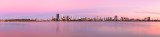 Perth and the Swan River at Sunrise, 8th January 2014
