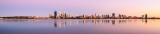 Perth and the Swan River at Sunrise, 15th January 2014