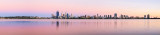 Perth and the Swan River at Sunrise, 19th January 2014