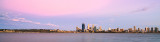 Perth and the Swan River at Sunrise, 22nd January 2014