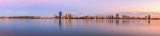 Perth and the Swan River at Sunrise, 30th January 2014