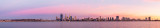 Perth and the Swan River at Sunrise, 12th March 2014