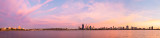 Perth and the Swan River at Sunrise, 24th March 2014