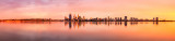 Perth and the Swan River at Sunrise, 25th March 2014