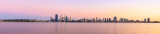 Perth and the Swan River at Sunrise, 28th March 2014