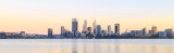 Perth and the Swan River at Sunrise, 5th March 2017