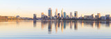 Perth and the Swan River at Sunrise, 6th March 2017