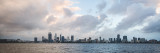 Perth and the Swan River at Sunrise, 13th March 2017