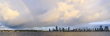 Perth and the Swan River at Sunrise, 14th March 2017