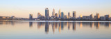 Perth and the Swan River at Sunrise, 17th March 2017