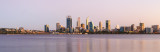 Perth and the Swan River at Sunrise, 29th March 2017