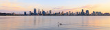 Perth and the Swan River at Sunrise, 18th April 2017