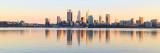 Perth and the Swan River at Sunrise 25th April 2017.jpg