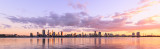 Perth and the Swan River at Sunrise, 11th May 2017